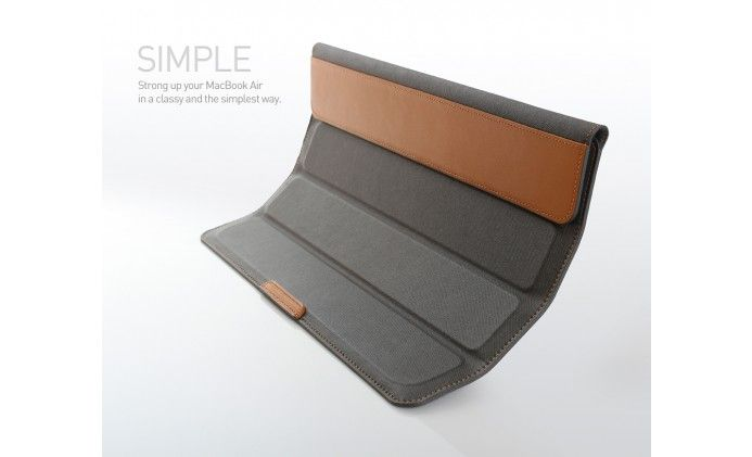 Review: Befine Stand Pouch suits MacBook Air! -