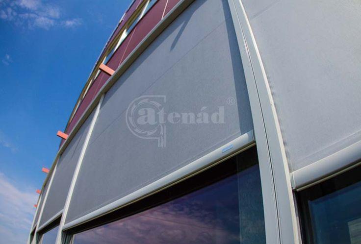 Fixscreen outdoor blind