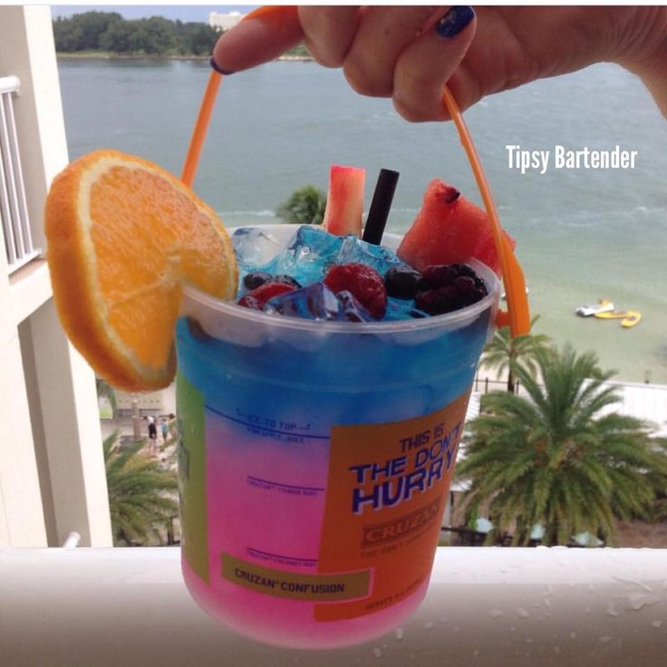 The Caribbean Storm. This is exactly what you need for your long relaxing day at the beach! For the recipe, visit us here: http://www.tipsybartender.com/blog/2015/8/10/caribbean-storm