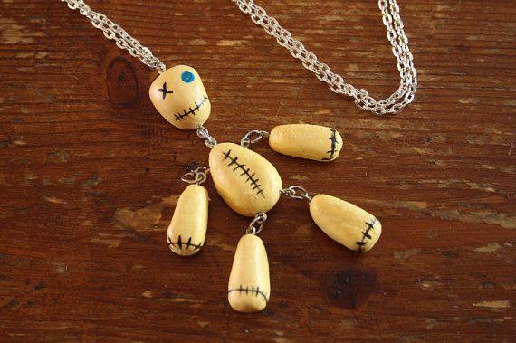 KoRn Issues Album Doll necklace handmade by BiteSizeDreams
