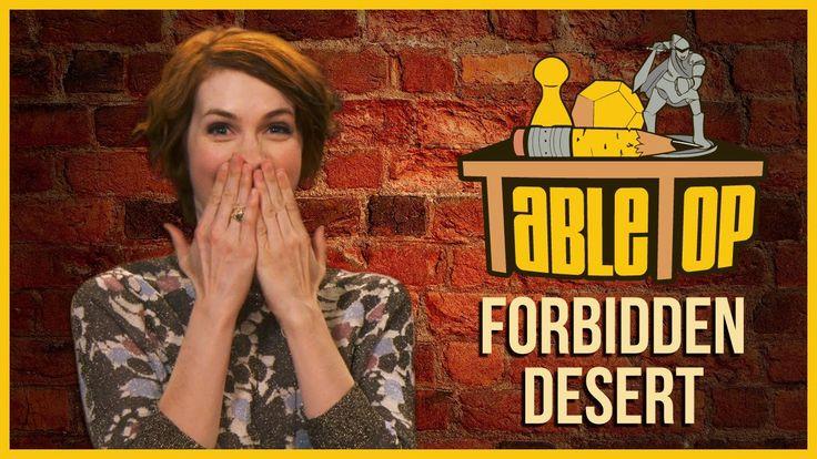 Forbidden Desert: Felicia Day, Alan Tudyk, and Jon Heder join Wil Wheato...