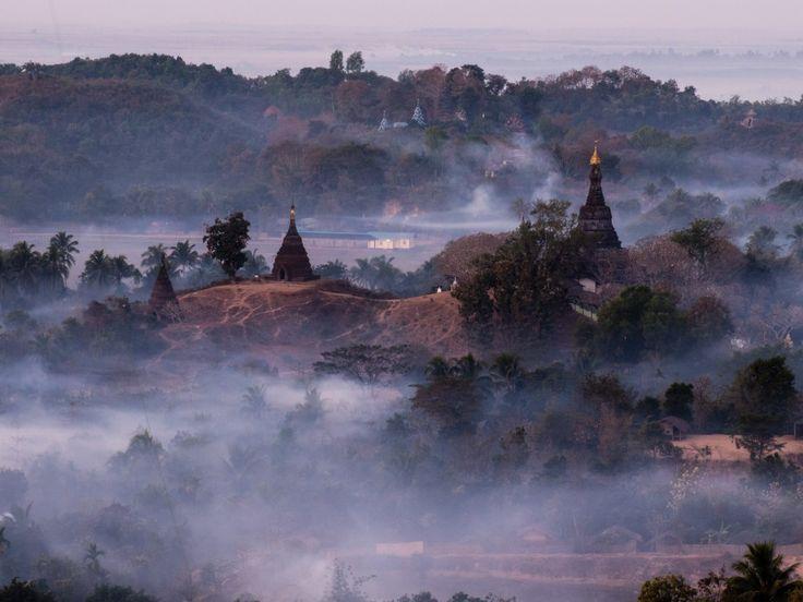 Images of Ancient Mrauk U, Myanmar