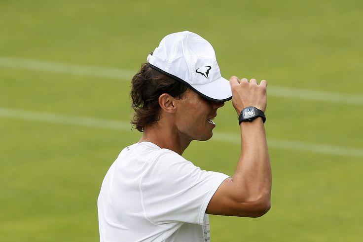 Wimbledon: Nadal Sunday practice