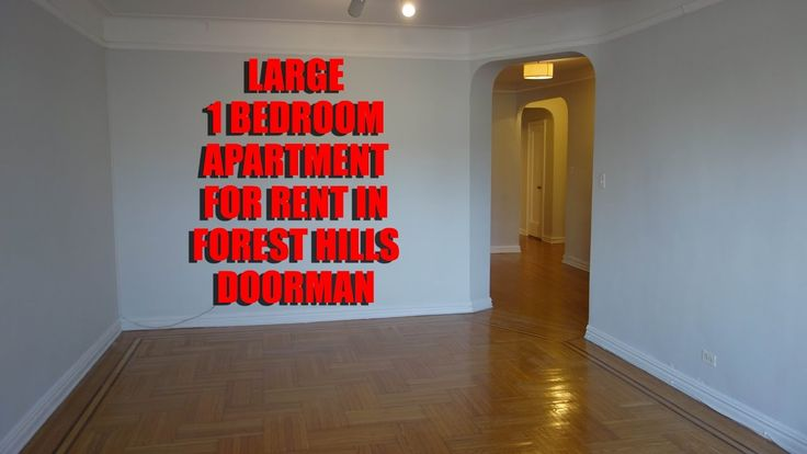 LARGE 1 BEDROOM APARTMENT FOR RENT IN FOREST HILLS, QUEENS, NYC