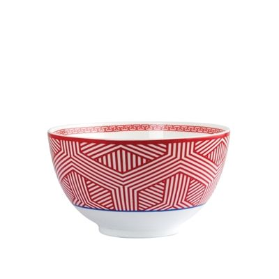 Salt and Pepper - ASIANA 14X8CM RED NOODLE BOWL