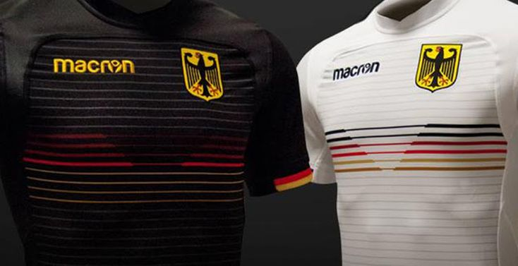 Better Than Adidas' Germany 2018 World Cup Kits? Awesome Macron Germany 2018 Rugby Kits Released - Footy Headlines