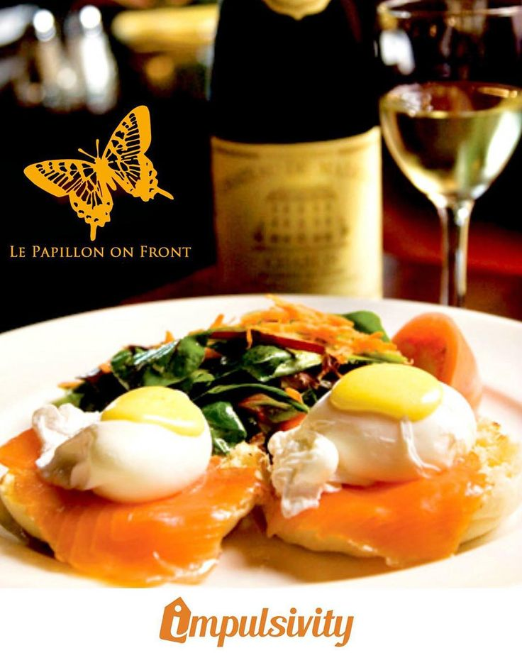 Come visit Le Papillon on Front and enjoy $6.50 glass of house wine with your #ImpulsivityApp!  Download it for FREE at the AppStore & Google Play.  #Toronto #ImpulsivityDeal