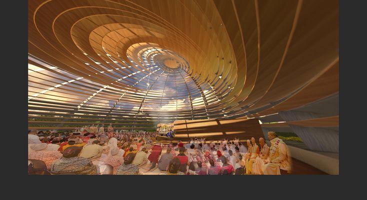 Travis Price Architects   Hare Krishna Temple, MD