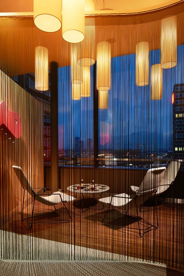 Colourful Hotel in Switzerland #hotelinteriordesigns