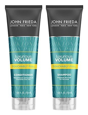 John Frieda Luxurious Volume Touchably Full, DUO set Shampoo + Conditioner, 8.45 Ounce, 1 each Review
