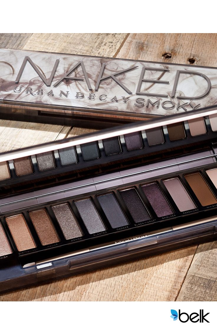The key to nailing the most sought-after eye look ever? Urban Decay's Naked Smoky—loaded with ALL the essentials to perfect any smoky eye. The velvety formula goes on smooth and blends like magic. Plus it stays put so you can wear it from the office to a night out. Get a true range of shades, the professional brushes, and detailed tutorials to help you get the most out of this incredibly versatile palette. What are you waiting for? Pick up your Smoky Palette at Belk.com now!
