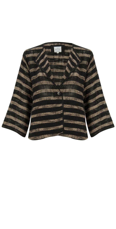 Masai Clothing NEW - Jaclyn Jacket in 991-KhakiPrint