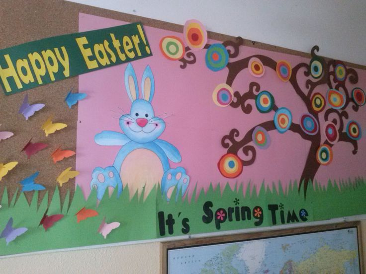 Classroom Ideas For Easter : Best images about easter boards doors ideas on