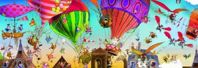 Heye Ballooning Puzzle (1000 Pieces):