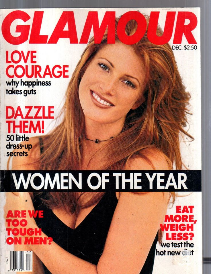 December 1993 cover with Angie Everhart