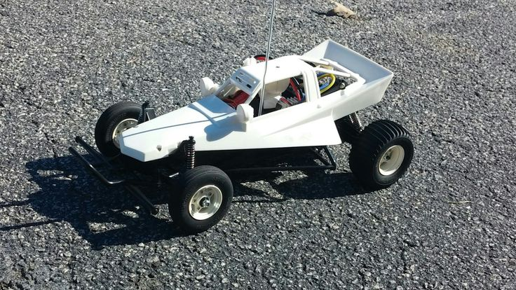 Tamiya Grasshopper with 540 motor