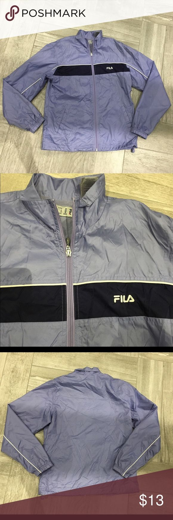 FILA Jacket Cute vintage looking jacket! In almost perfect condition and great for activity wear or casual wear! 💯% nylon Fila Jackets & Coats