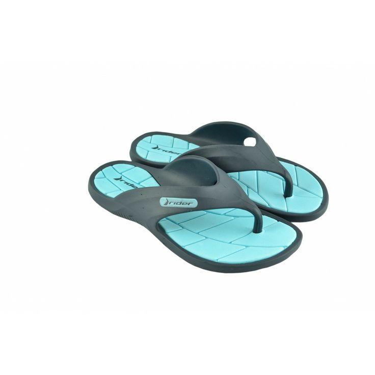 Chanclas-Playeras tipo flip flop de goma de RIDER.
