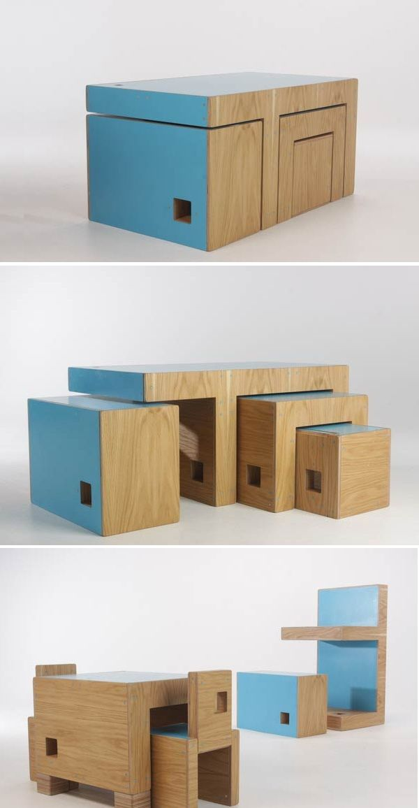 ReStyle: Multifunctional modular furniture. ReStyle is not one object, but  a cluster of