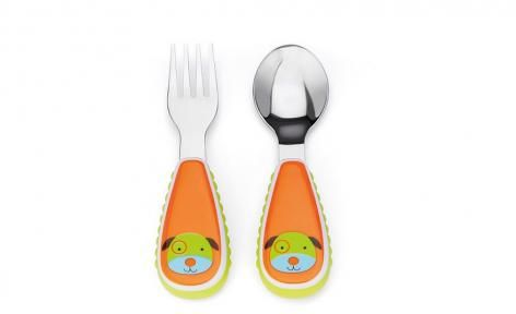 Dog Zootensils Fork and Spoon by Skip Hop