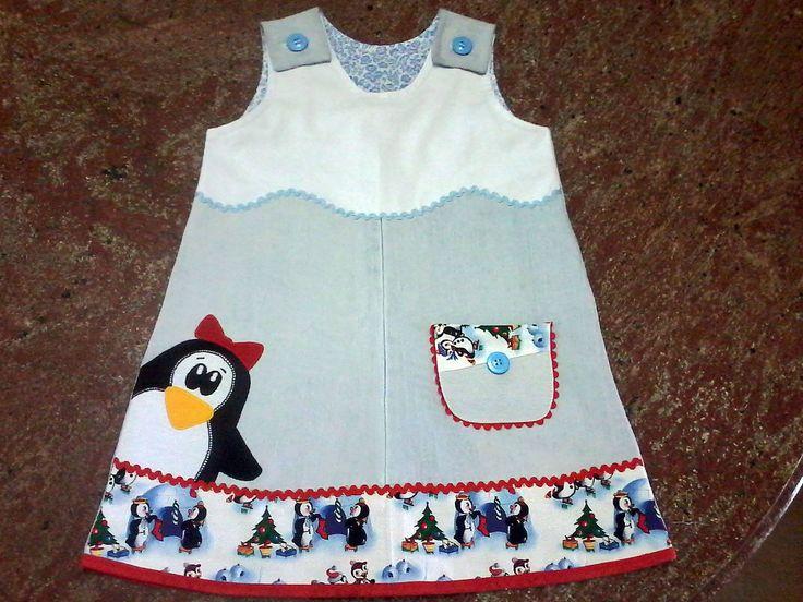 Renata Levy Original. I love the penguin!