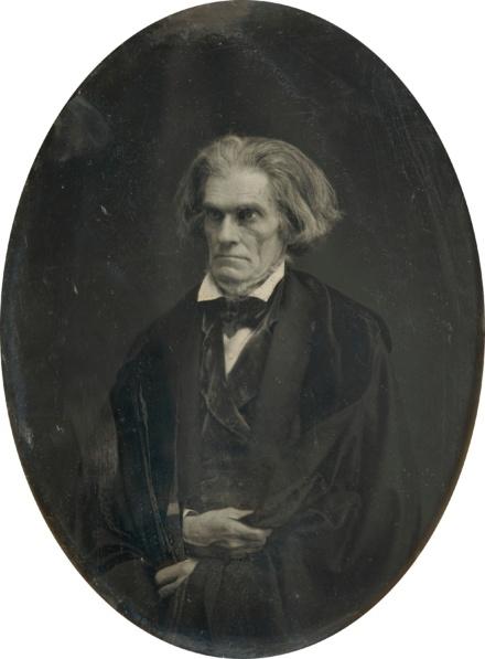 John C Calhoun, 7th Vice President 1825-1832, to John Quincy Adams 1825-1829,   to Andrew Jackson 1829-1837.