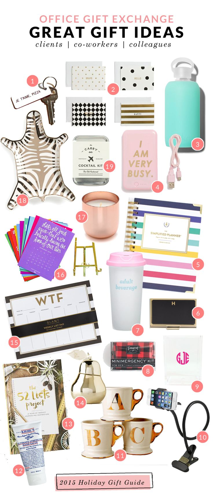 Great Secret Santa Gift Ideas: an ABD Desk Calendar! | #ispyABD