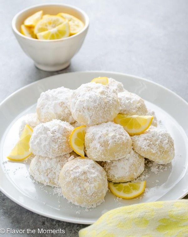 Meyer Lemon Greek Butter Cookies (Kourabiedes) | Bob's Red Mill
