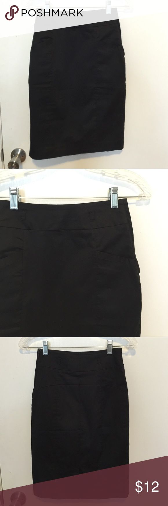H&M black pencil skirt (2) ✨ H&M black pencil skirt. Great for the office! (2) ✨ H&M Skirts Pencil