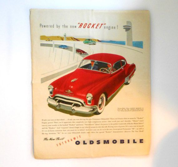 Fortune Magazine Cover June 1949 The New by MargsMostlyVintage