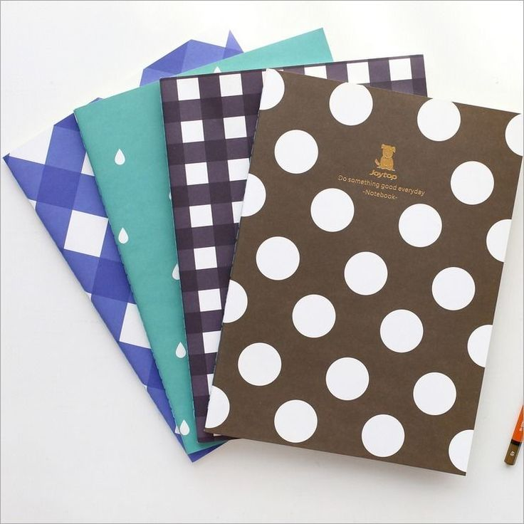 """""""Magic Graph"""" Pack of 4 Lined Study Notebook Exercise Book Cute Diary Notepad #Unbranded"""