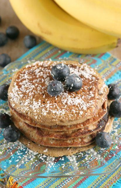 5 Ingredient Banana Bread Pancakes   Daily Bites   Healthy Gluten-Free + Dairy-Free Recipes