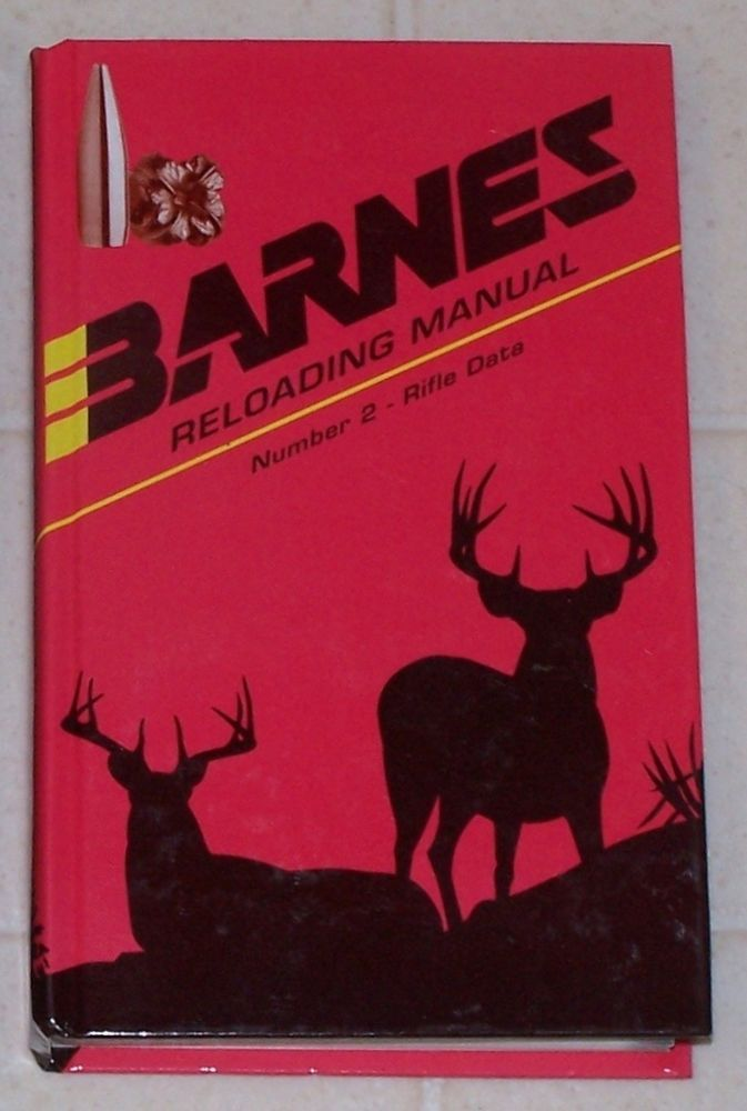 BARNES Reloading Manual Number Number 2 RIFLE DATA 1997 Hardcover