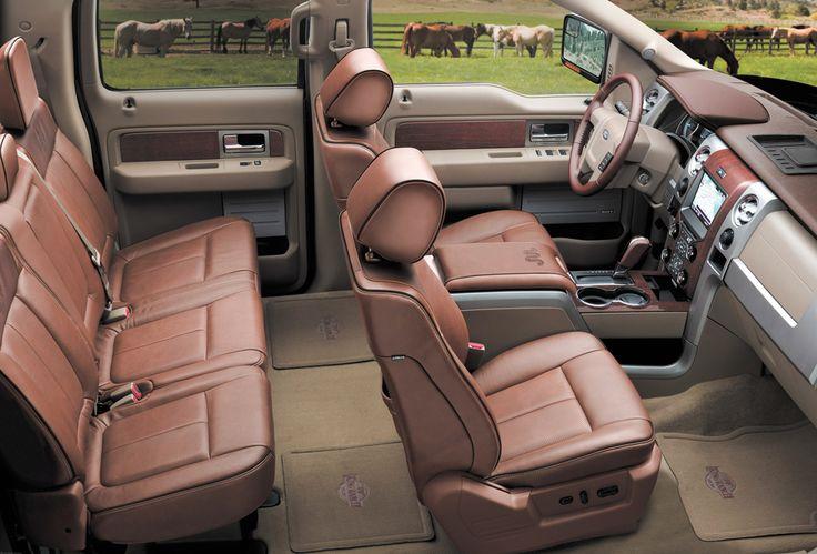 2013 Ford F 250 King Ranch Interior