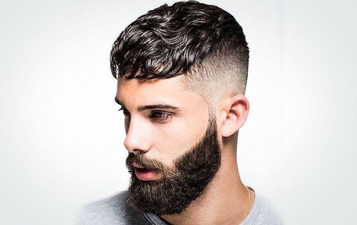 Corte de cabelo estilo Cesar com pasta