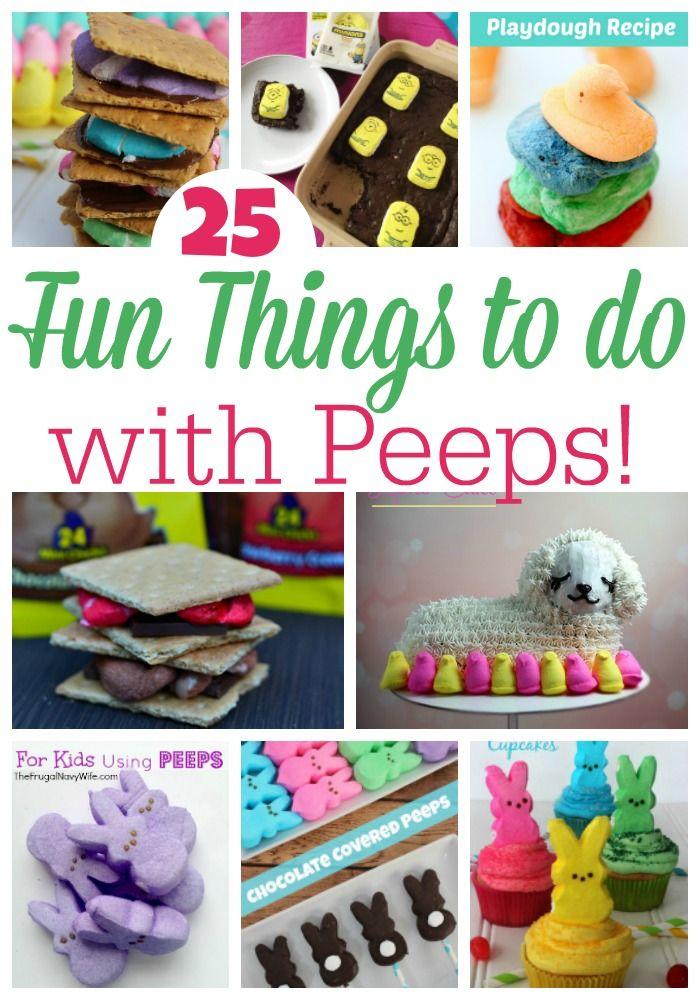 30 Best Marshmallow Peeps Crafts Images On Pinterest