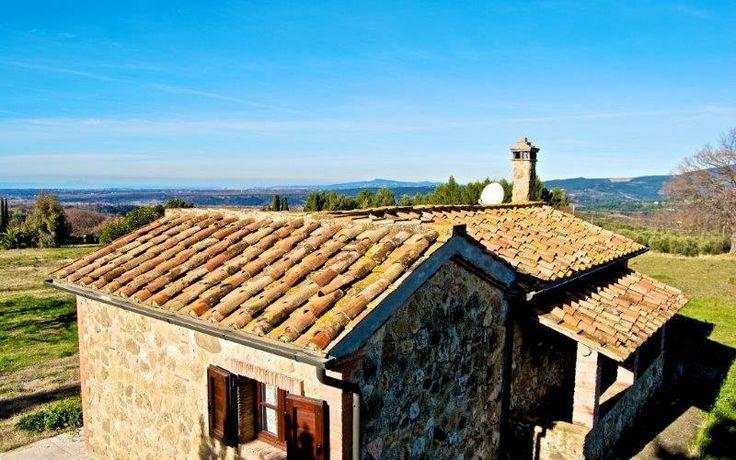 Casetta con terreno in posizione meravigliosa vista mare. | Tina immobiliare - agenzia immobiliare Cecina Mare - Livorno