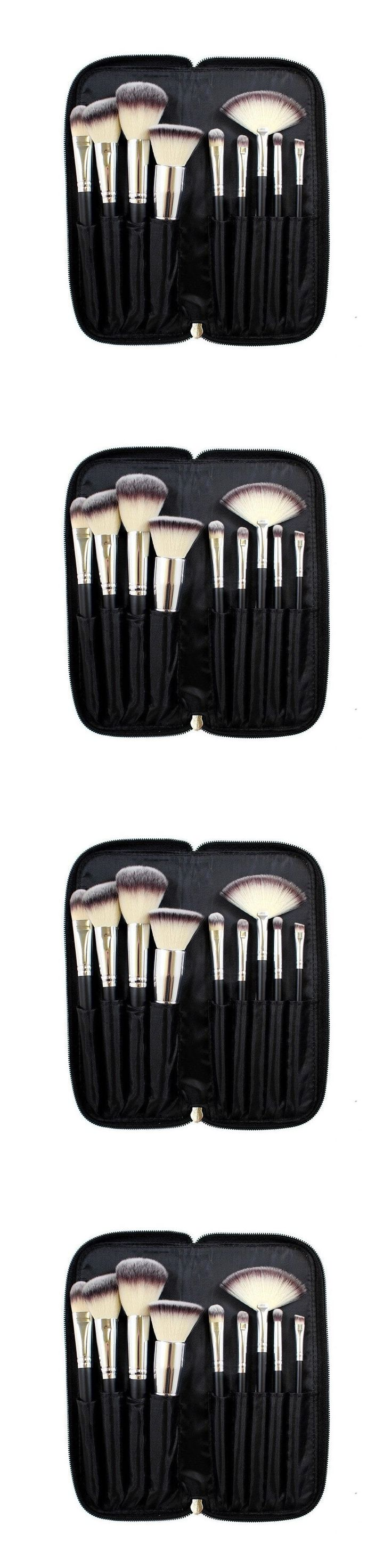 health and beauty: Professional Makeup Brush Set With Case Cosmetic Brushes Powder Foundation Soft -> BUY IT NOW ONLY: $37 on eBay!