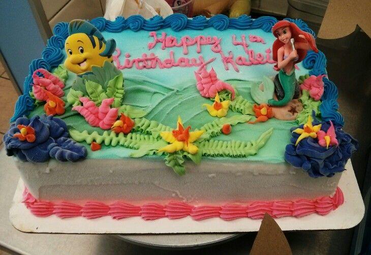 Kids Birthday Ice Cream Cake