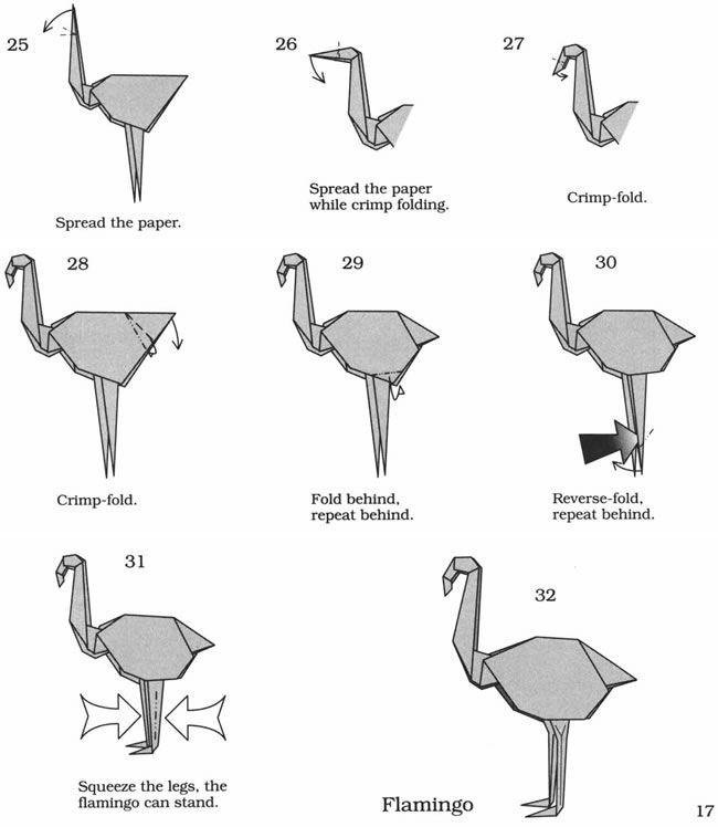 Birds in Origami