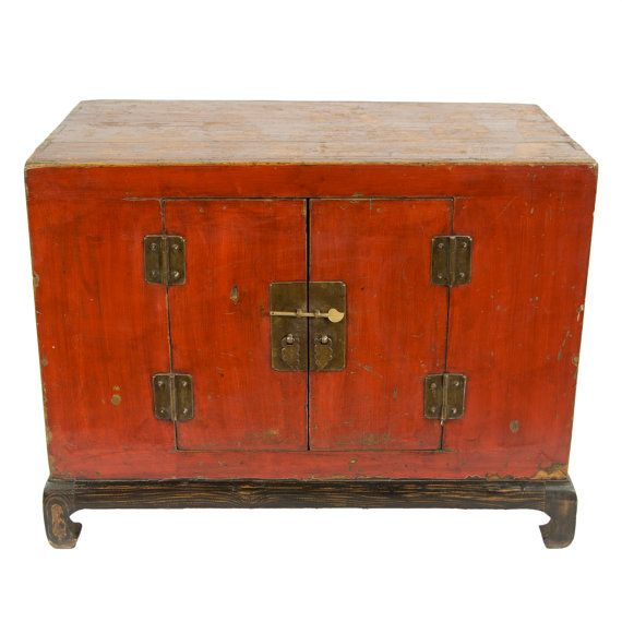 Antique Chinese Storage Cabinet Console Or Media By Modernredla