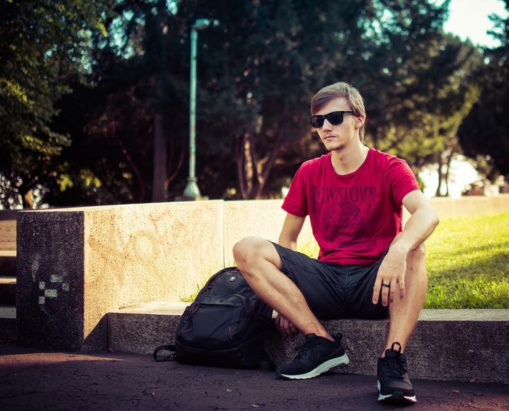 School started though I have another month to wait.  . Photo by @hrenakvision  . . . . . . #backtoschool #school #work #university #college #cool #waiting #guy #boy #photography #photoshoot #model #red #black #nike #backpack #park #streetstyle #awesome #prague #photooftheday #followme #instagood #instaboy #sun #summer #holiday #sunglasses #hair #man