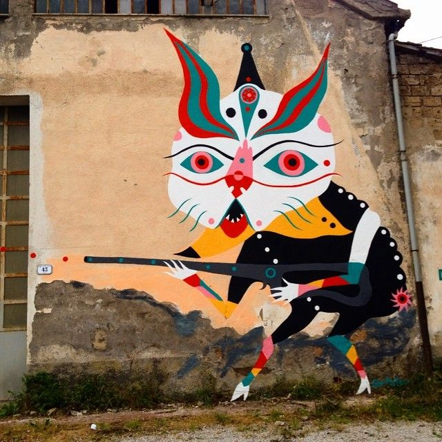 """by Gio Pistone at Arcidosso Castello Aldobrandesco, Tuscany, Italy - """"Ratatatatatata'"""""""