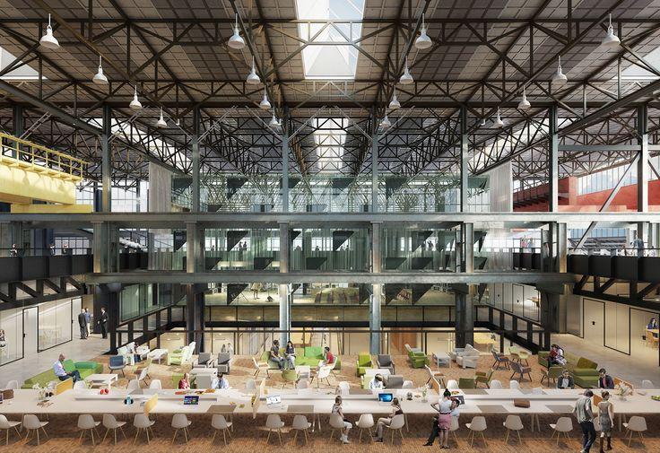 CIVIC architects - Public Library - Tilburg | Image ©3D Studio Prins