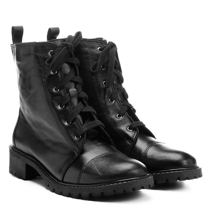 Compre Bota Shoestock Coturno Preto na Zattini a nova loja de moda online da Netshoes. Encontre Sapatos, Sandálias, Bolsas e Acessórios. Clique e Confira!