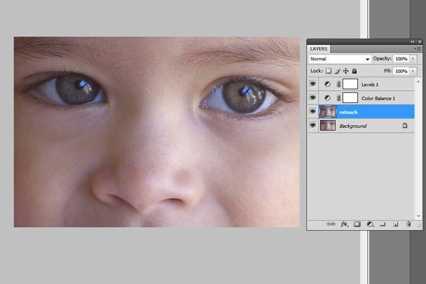 Eye Sharpening Photoshop Tutorial