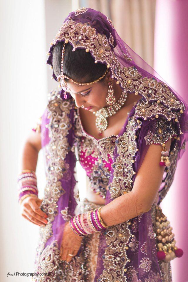 www.weddingsonline.in #lengha #jewelry #bride <3 themarriedapp.com hearted <3