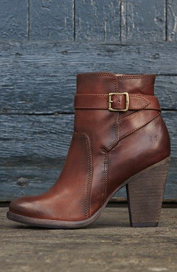 Frye 'Patty' riding bootie. I think I need these.