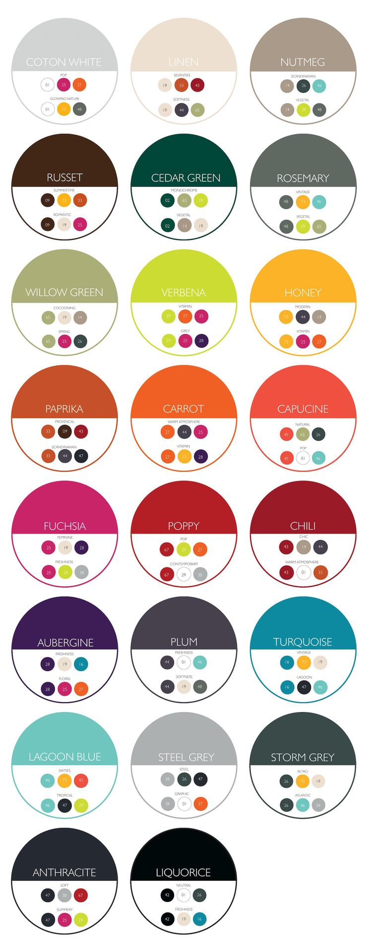 757 best | SHADES OF PAINT COLOURS | images on Pinterest