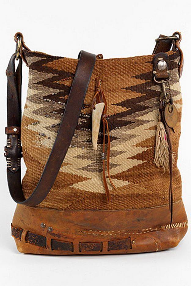 Ralph Lauren kilim handbag